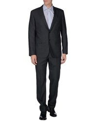 Paoloni Suits And Jackets Suits Men Steel Grey