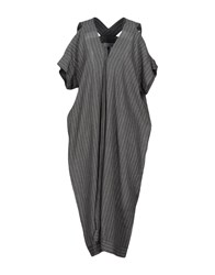 Malloni 3 4 Length Dresses Grey