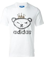 Adidas Originals 'Artist Bear By Nigo' T Shirt White