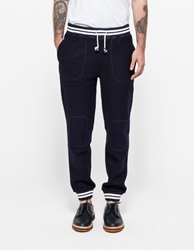 Band Of Outsiders Felted Fleece Sweatpant Classic Navy