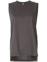 08Sircus Jersey Tank Top Grey