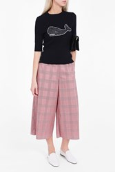 Thom Browne Women S Half Sleeve Whale Jumper Boutique1 Navy