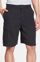 Men's Big And Tall Tommy Bahama 'Key Grip' Relaxed Fit Cargo Shorts Blue Tahoe