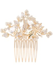 Dolce And Gabbana Dragonfly Haircomb Gold