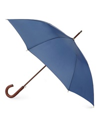 Totes Stately Auto Umbrella Blue