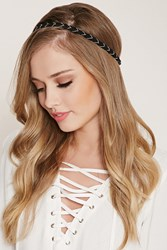 Forever 21 Braided Bead Headwrap