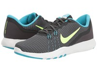 Nike Flex Tr 7 Anthracite Ghost Green Chlorine Blue Women's Cross Training Shoes Black
