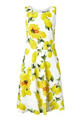 James Lakeland Print Dress Snow