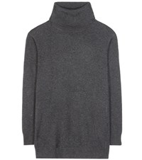 Closed Knitted Sweater Grey