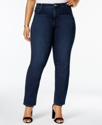 Lee Platinum Plus Size Gwen Straight Fit Jeans Spy