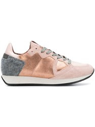 Philippe Model Monaco Sneakers Nude And Neutrals
