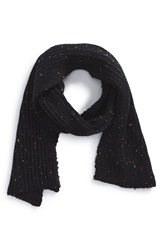 The Rail 'Donegal' Scarf Black Neon