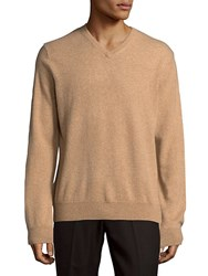 Saks Fifth Avenue Black Knitted Cashmere Sweater Ivory