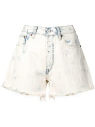 Polo Ralph Lauren Distressed Shorts White