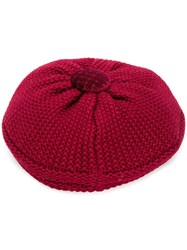 Le Chapeau Knitted Hat Red
