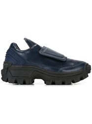 Juun.J Cleated Sole Sneakers Blue