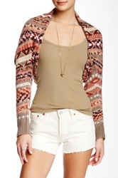 Free People Carnival Shrug Red