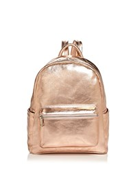 Aqua Leather Backpack 100 Exclusive Rose Gold Silver