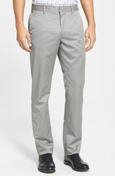 Men's Big And Tall Bonobos 'Weekday Warrior' Non Iron Slim Fit Cotton Chinos Friday Light Greys