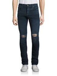 Rag And Bone Fit 1 Stretch Skinny Distressed Jeans Manor