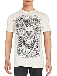 Affliction Graphic Cotton Tee Vintage White