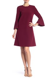 Lafayette 148 New York Sidra Bell Sleeve Dress Shiraz