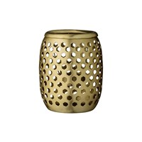 Day Birger Et Mikkelsen Brass Votive Latticed With Holes 10X12cm