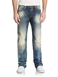Cult Of Individuality Hagen Distressed Faded Relax Fit Jeans