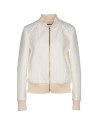 Messagerie Coats And Jackets Jackets Women White