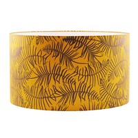 Clarissa Hulse Feather Fern Lampshade Turmeric Storm Large