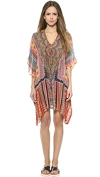 Camilla Short Lace Up Caftan Child Of The Tribe