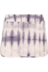 Nike Pure Tie Dyed Dri Fit Tennis Skirt Lilac