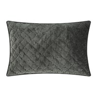 Day Birger Et Mikkelsen Velvet Quilted Cushion Cover Unblack 40X60cm