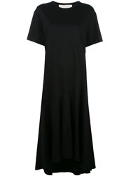 Cedric Charlier T Shirt Dress Black