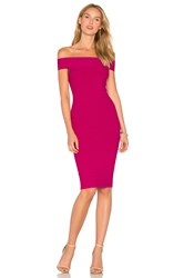 Jay Godfrey Roy Dress Purple