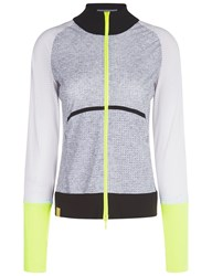 Monreal Heather Grey Featherweight Zip Sports Jacket