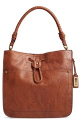 Frye Demi Hobo Bag Brown Whiskey