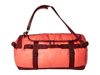 The North Face Base Camp Duffel Large Cayenne Red Regal Red Duffel Bags Pink