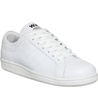 Wood Wood Bo Leather Trainers White