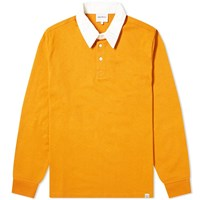 Norse Projects Ruben Rugby Shirt Orange