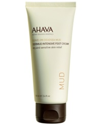 Ahava Dermud Intensive Foot Cream 3.4 Oz