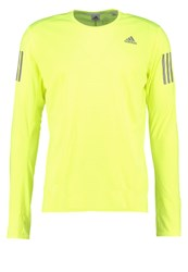 Adidas Performance Sports Shirt Solar Yellow Neon Yellow