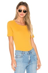 Ragdoll Rib Tee Yellow