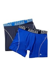 Adidas Sport Boxer Brief Pack Of 2 Blue