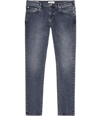 Reiss Newquay Tapered Slim Jeans In Blue Mens