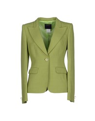 Class Roberto Cavalli Suits And Jackets Blazers Women Green