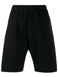 Low Brand Zip Pockets Bermuda Shorts Black