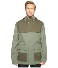 Columbia South Canyon Jacket Cypress Peatmoss Men's Coat Green