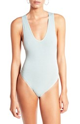 Bdg Urban Outfitters Seamless Bodysuit Pine