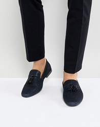 Kg By Kurt Geiger Party Slipper Loafers Navy Blue